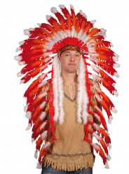 Ornamento de grande chefe índio para adulto