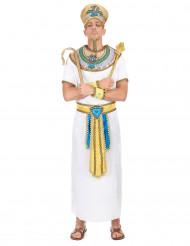 Disfarce de rei egípcio adulto