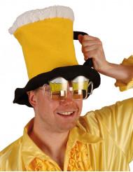 Chapéu caneca de cerveja adulto