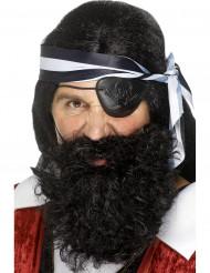 Barba de pirata adulto