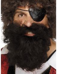 Barba de pirata para homem