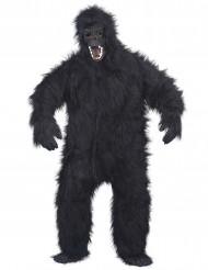 Disfarce de gorila para adulto