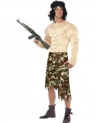 Disfarce militar homem
