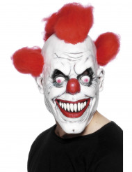 Máscara assustadora de palhaço adulto Halloween