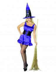 Disfarce de bruxa sexy para mulher Halloween