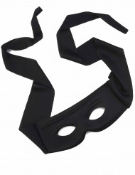 Máscara preta justiceiro adulto