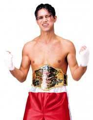 Cintura de campeão de boxe para adulto