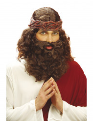 Peruca e Barba Jesus Homem