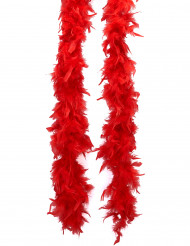 Boa de plumas vermelho 50 g