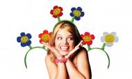 Bandelete de flores para adulto