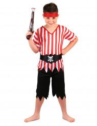 Disfarce pirata menino
