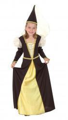 Disfarce de fada medieval para menina