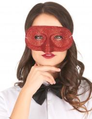 Máscara de brilhantes para adulto