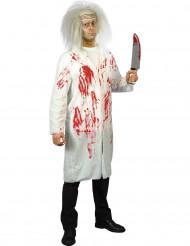Fantasia de médico ensanguentado Halloween