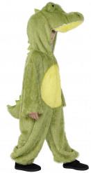 Disfarce crocodilo criança
