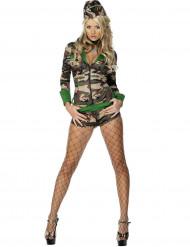 Disfarce militar sexy para mulher