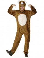 Disfarce de urso para adulto