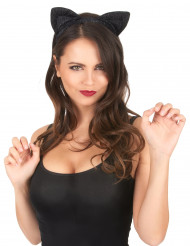 Orelhas de gato pretas