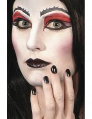 Maquilhagem negra Halloween