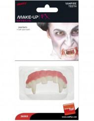 Dentadura de vampiro Halloween para adulto