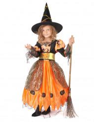 Disfarce de bruxa rapariga Halloween