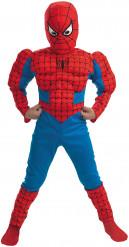 Disfarce de Spiderman musculado para criança