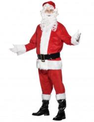 Disfarce de pai Natal para homem