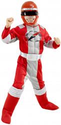 Disfarce de Power Rangers™ vermelho para rapaz