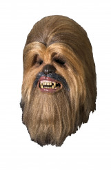 Máscara de luxo Chewbacca Star Wars™ adulto