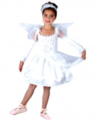 Disfarce de anjo de menina