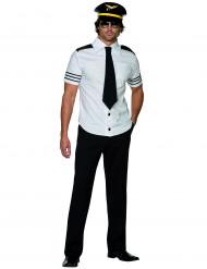 Disfarce de piloto de avião