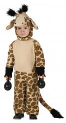 Disfarce de girafa para criança