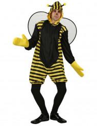 Disfarce de abelha para adultos