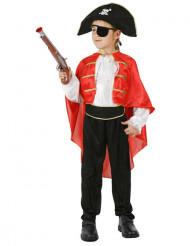 Disfarce de capitão dos piratas para rapaz