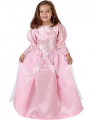 Disfarce de linda princesa menina