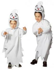 Disfarce fantasma criança para Halloween