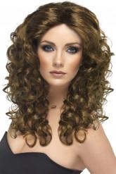 Peruca glamour de cabelos compridos mulher