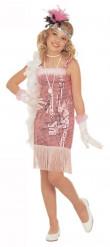 Disfarce cabaret rosa Marilyn menina