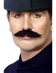 Bigode de agente da polícia inglês adulto