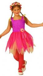 Disfarce de fada bailarina fúchsia menina