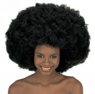 Peruca maxi afro disco adulto