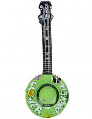 Banjo insuflável hippie