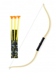 Arco com 3 flechas para criança