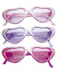 Óculos de glamour brilhantes criança