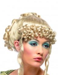 Peruca loura de deusa grega para mulher