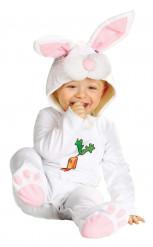 Disfarce de coelho para bébé