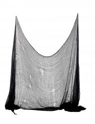 Decoração lençol preto para Halloween
