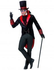 Disfarce de Drácula homem Halloween