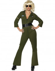 Disfarce de aviadora Hottie Top Gun™ para mulher