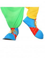 Sapatos de palhaço para adulto